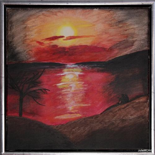 M-008 - Sunset (40x40) - 2014